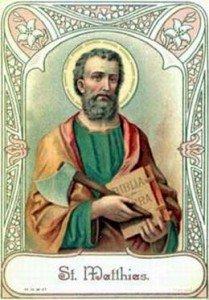 14 maggio: San Mattia Ap:; VI settimana di Pasqua