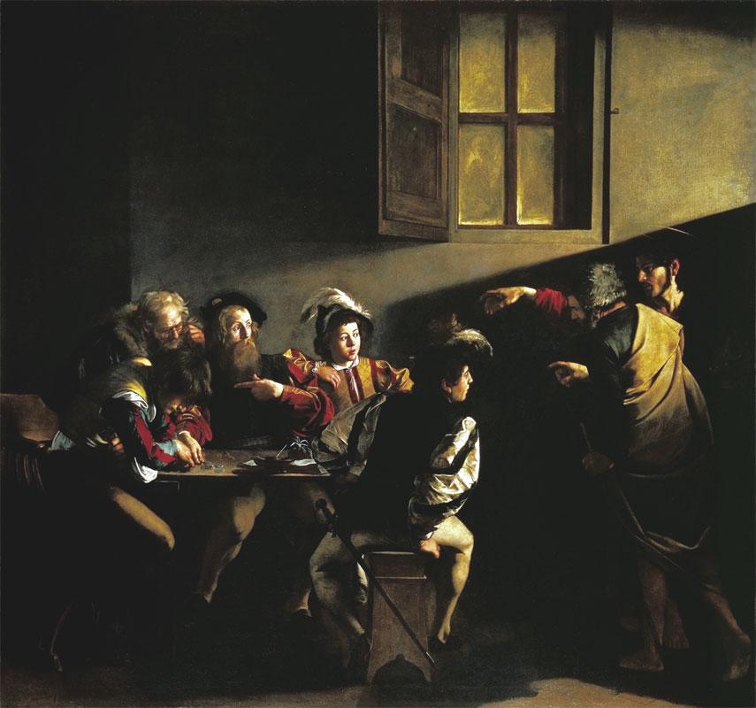en e paolo Caravaggi Vocazione-di-San-Matteo- - Copia
