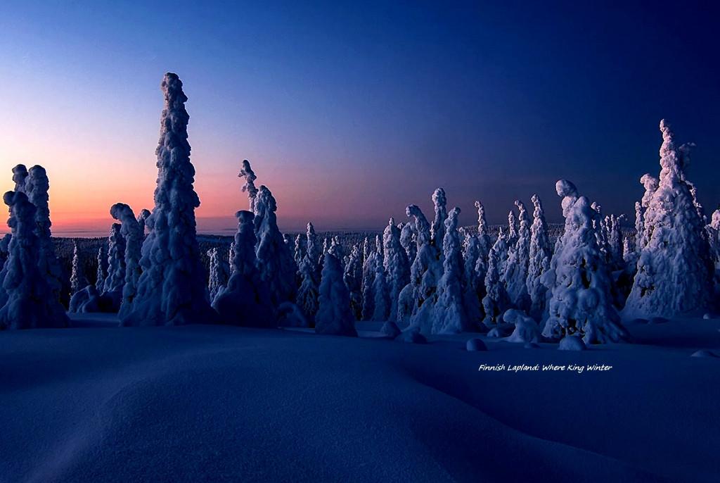 finnish lapland -Natale 2014