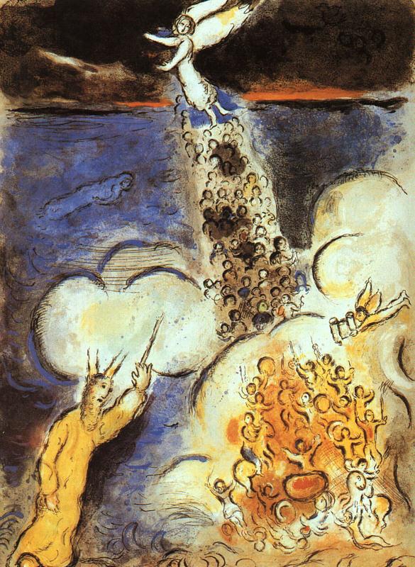 chagall exodus - Copia