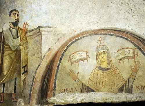san-paolo-napoli-catacomba-san-gennaro vi secolo - Copia