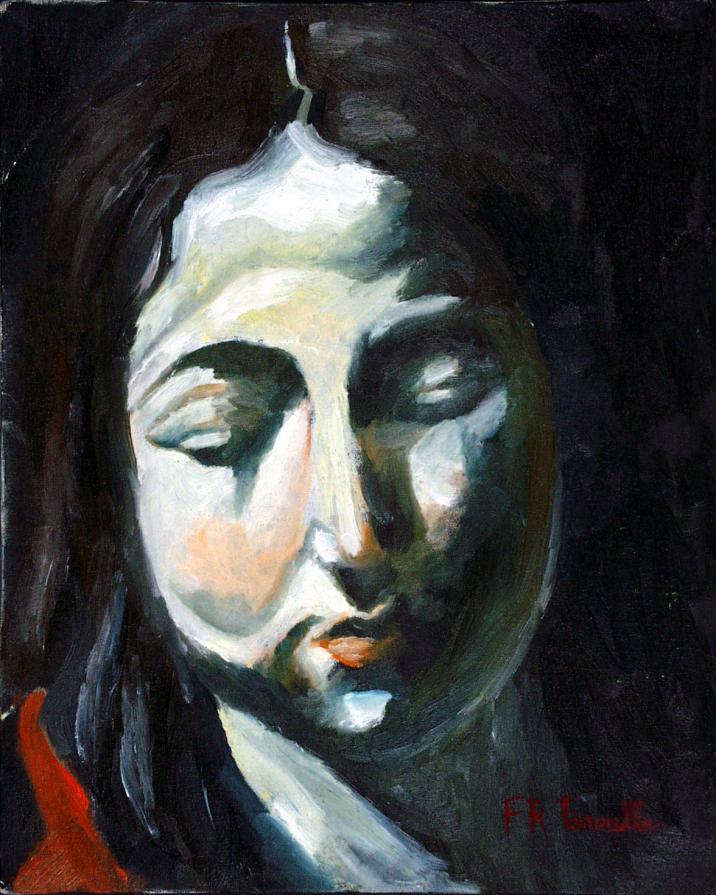 per paolocaravaggio il volto di Gesù