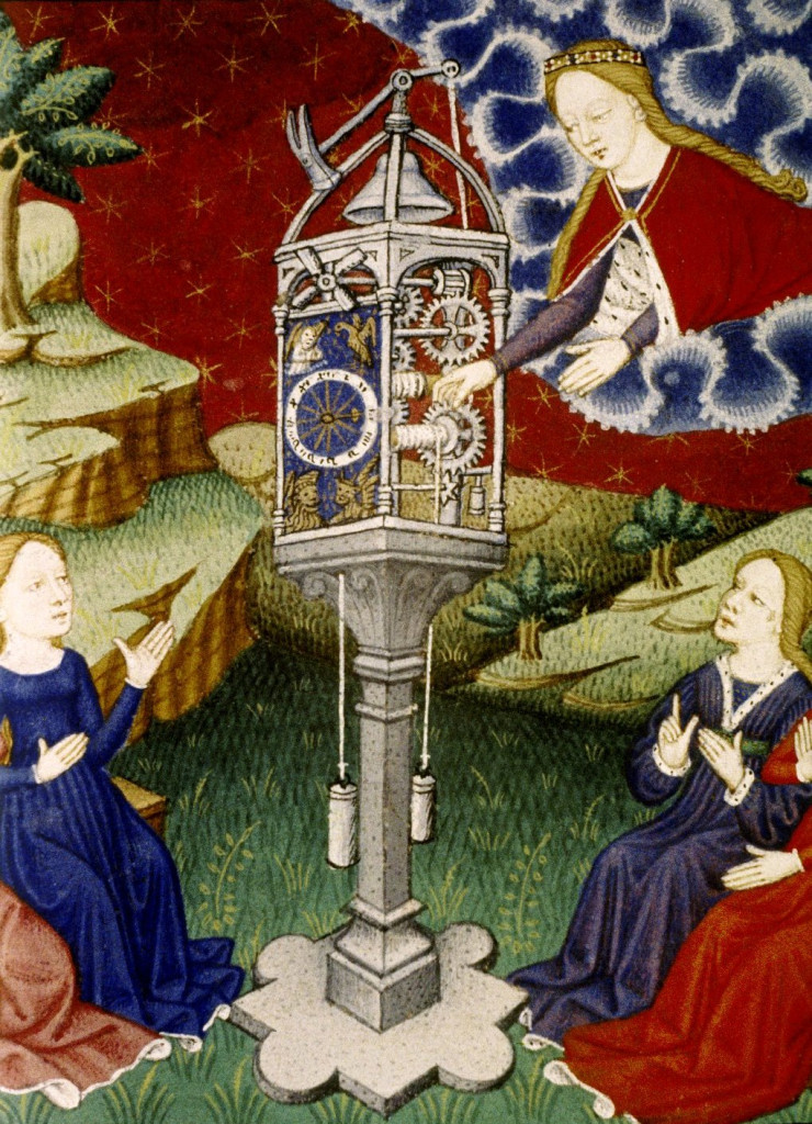 imm paolo La-Dea-Temperanza-carica-lorologio-Épître-dOthéa-1450-Bodleian-Library - Copia