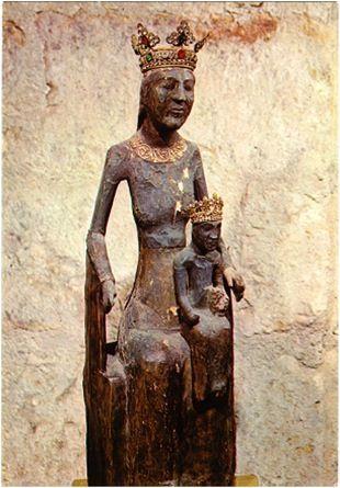 imm paolo Vierge Noire de ROCAMADOUR - FRANCE - 12th century