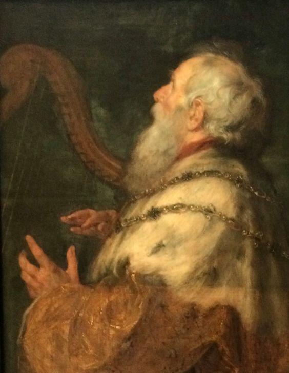 per la mia e paolo Rubens Re Davide suona l'arpa
