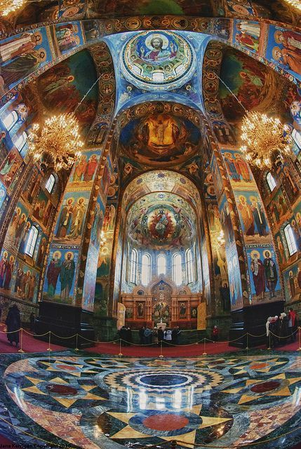 paolo The Church of Our Saviour on the Spilled Blood,Saint Petersburg,Russia